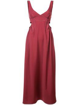 Ellery расклешенное платье миди 8FD743SUMAR