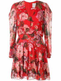 Ingie Paris платье-трапеция с длинными рукавами и цветочным принтом 3141RD02CHIIMP2