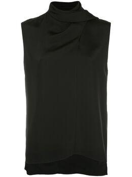 Adam Lippes блузка с запахом R20118SB