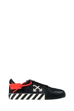 Черные кроссовки с контрастной отделкой Off-White 2202165123