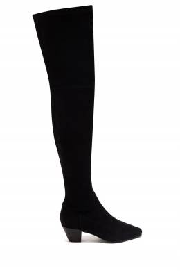 Черные ботфорты Maje 888164556