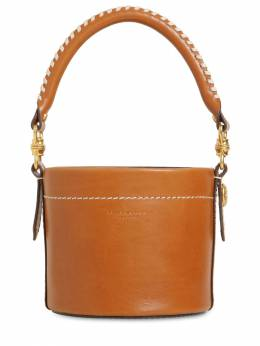 Sm Miller Cantinee Leather Bucket Bag Tory Burch 71IL4W011-MjE00