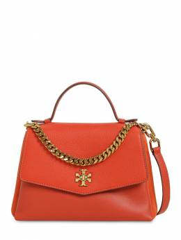 Kira Grained & Smooth Leather Bag Tory Burch 71IL4W006-ODAw0