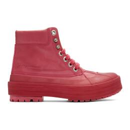 Jacquemus Pink Les Meuniers Hautes Boots 194FO12-194 74450
