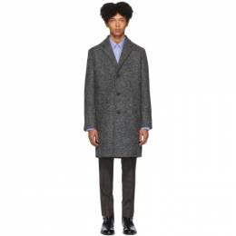 Hugo Grey Wool Malte 1941 Coat MALTE1941 50415907
