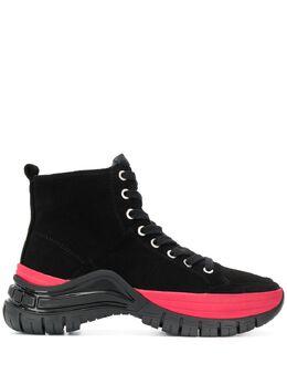 Calvin Klein Jeans ботинки на шнуровке со вставками R0763