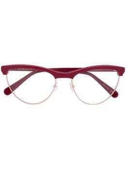 Stella Mccartney Eyewear очки в оправе 'кошачий глаз' SC0219O