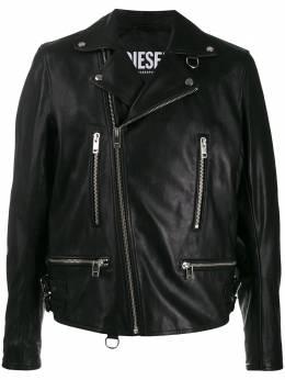 Diesel байкерская куртка с косой молнией 00SW5D0KAUV
