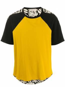 Marni футболка в стиле колор-блок HUMU0122Q0STJ294