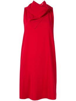 Ck Calvin Klein платье с драпированной горловиной T054W54630RIP