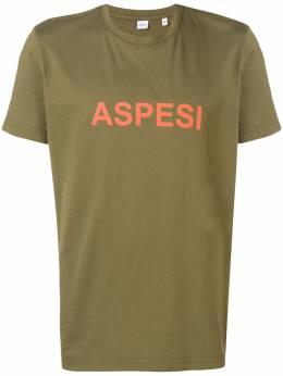 Aspesi футболка с принтом логотипа и круглым вырезом AY21A335