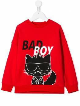 Karl Lagerfeld Kids толстовка Bad Boy Z25201