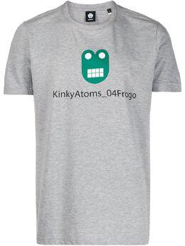 Aspesi футболка с принтом Kinky Atoms FY12A343