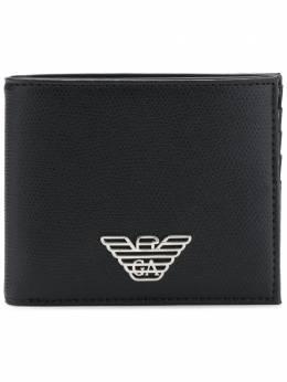 Emporio Armani кошелек с бляшкой с логотипом Y4R168YLA0E