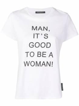 Marlies Dekkers футболка с надписью 'Good to be a Woman' 19840