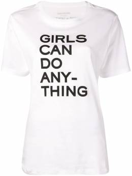 Zadig & Voltaire футболка 'Girls Can Do Anything' PWGTR1801F