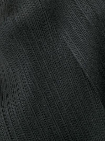 Pleats Please Issey Miyake двухслойный плиссированный топ PP98JK561 - 5