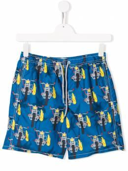 Mc2 Saint Barth Kids плавки-шорты с принтом JEA0001
