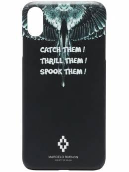 Marcelo Burlon County Of Milan чехол Wings для iPhone XS MAX CMPA012E190080391088