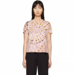 Raquel Allegra Pink Tie-Dye Boy T-Shirt Y96-3852TD