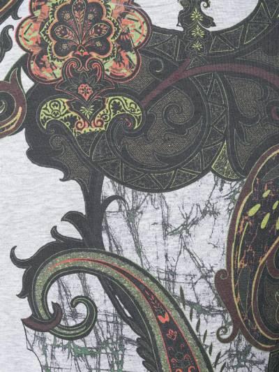 Etro футболка с принтом пейсли 1Y0209338 - 5