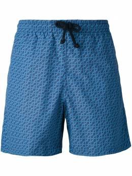 Fashion Clinic Timeless шорты для плавания с мелким принтом 46021871