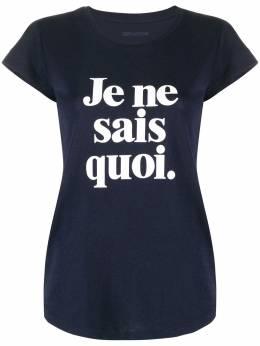 Zadig & Voltaire футболка с принтом WHTS1803F