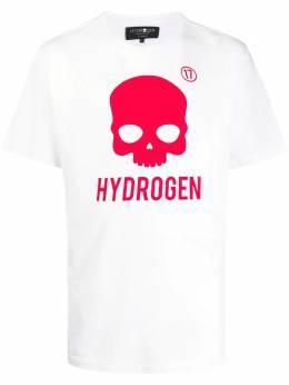 Hydrogen футболка с логотипом 250634
