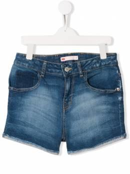 Levi's Kids джинсовые шорты с необработанными краями NN26547