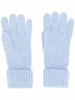 N.peal трикотажные перчатки в рубчик NPA001B