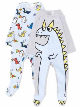 Stella McCartney Kids комплект из двух пижам с принтом 572011SNJB1