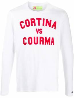 Mc2 Saint Barth футболка с длинными рукавами и принтом Cortina LYON