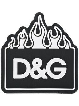 Dolce&Gabbana нашивка с логотипом BI1313AJ064