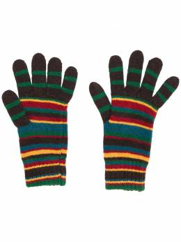 Paul Smith striped knit gloves M1A457BAV128A