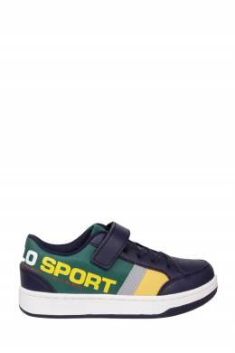 Сине-зеленые кроссовки с отделкой Ralph Lauren Kids 1252164918