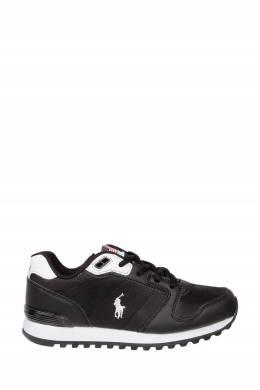Черные кроссовки с отделкой Ralph Lauren Kids 1252164921