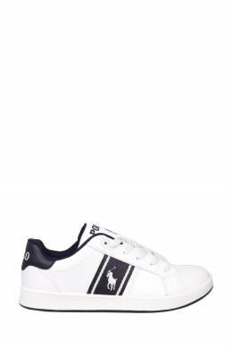Белые кеды с символом бренда Ralph Lauren Kids 1252164911