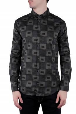 Рубашка с графичным узором Armani Jeans 1742164833