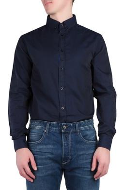 Темно-синяя рубашка Armani Jeans 1742164815