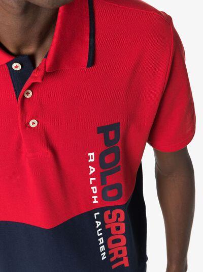 Polo Ralph Lauren рубашка-поло с логотипом 710772067001 - 5
