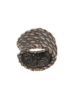 Goti кольцо с гравированным логотипом AN930