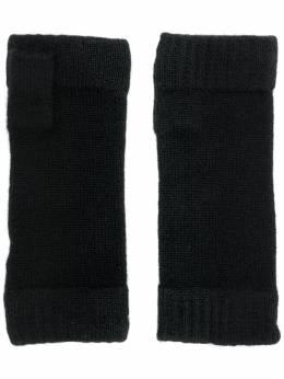 N.peal finger-less knitted gloves NPA576