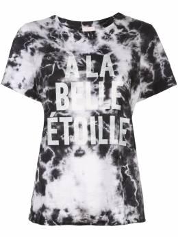 Cinq A Sept футболка A La Belle Etoile с принтом тай-дай ZT3282392Z