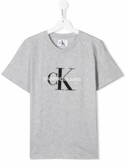 Calvin Klein Kids футболка с логотипом IU0IU00068