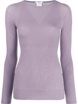 Wolford свитер с леопардовым принтом 52739