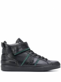Roberto Cavalli ботинки на молнии с монограммой 8302A