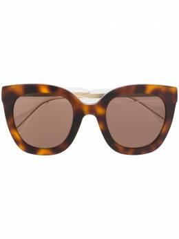 Gucci Eyewear солнцезащитные очки в квадратной оправе 596085J0740