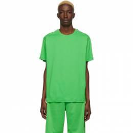 Givenchy Green Elastic Band T-Shirt BM70UJ3002