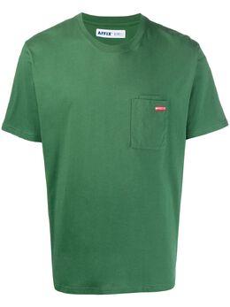 Affix футболка с принтом на спине AFFWAW19TS07