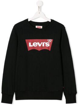 Levi's Kids толстовка с нашивкой-логотипом 9E9079